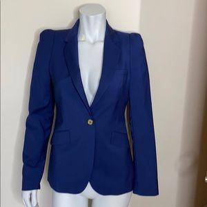 Zara Puff Sleeve Blazer Single Breasted Size S